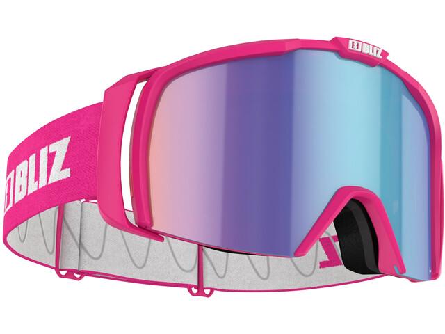Bliz Nova Goggles matt pink/brown-blue multi